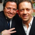 Rocco Siffredi e Francesco Costa