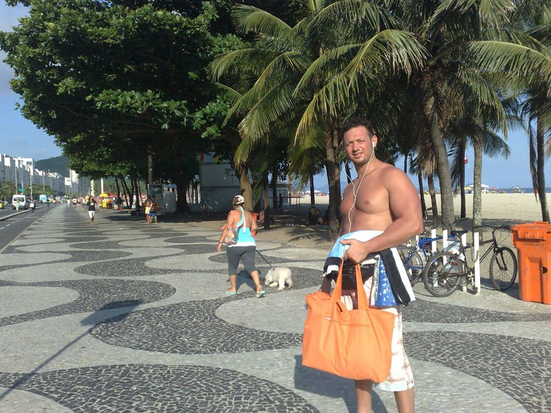 Carlos a Rio de Janeiro