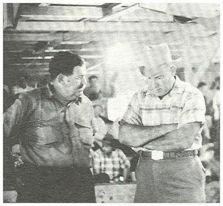 Bert Clouse and Leo kinard