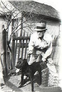 Bert Tudoe with Bucher Boy