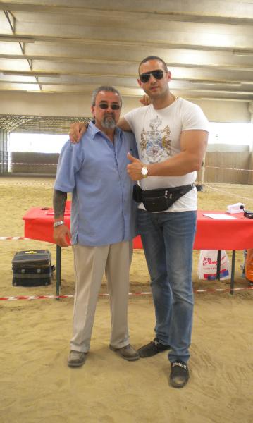 Frank Rocca and Carlos