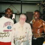 Booby Hall and Evander Holyfield