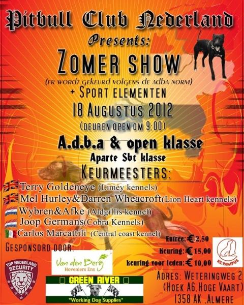 Zomer show Holland